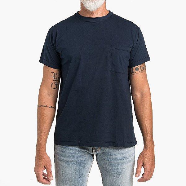 Camiseta WON Colors Marinho Moda Masculina
