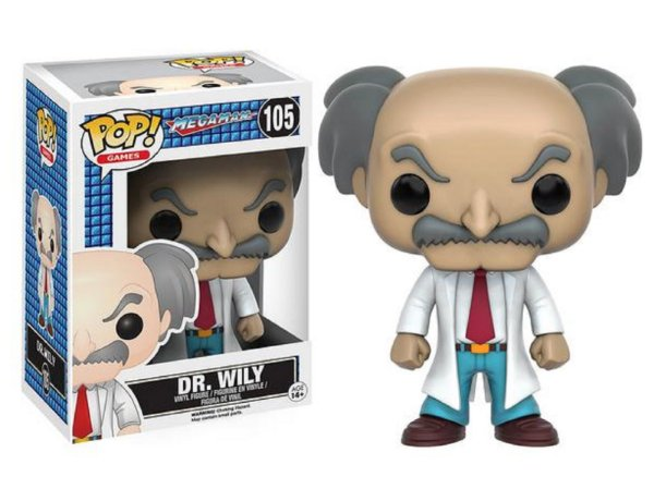 Funko Pop Dr. Wily