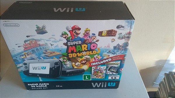 Console Nintendo Wii U Deluxe 32gb
