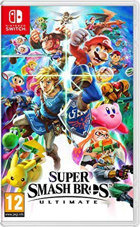 Jogo Super Smash Bros Ultimate Switch