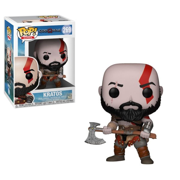 Funko Pop! Kratos God of War 4 PS4
