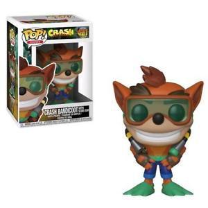Funko Pop!  Crash Bandicoot com Roupa de Mergulho