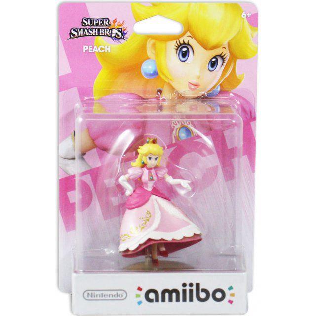 Amiibo Peach - Super Smash Bros - Nintendo