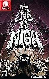 JOGO THE END IS NIGH NINTENDO SWITCH