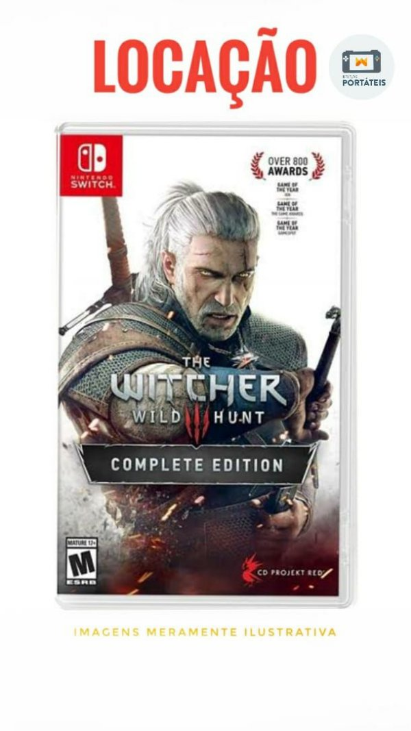 [ALUGADO] The Witcher 3 Nintendo Switch