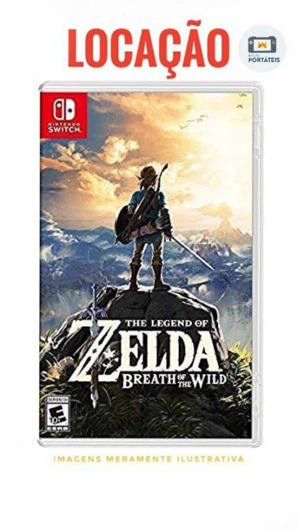 [ALUGADO] The Legend of Zelda: Breath of the Wild Nintendo Switch