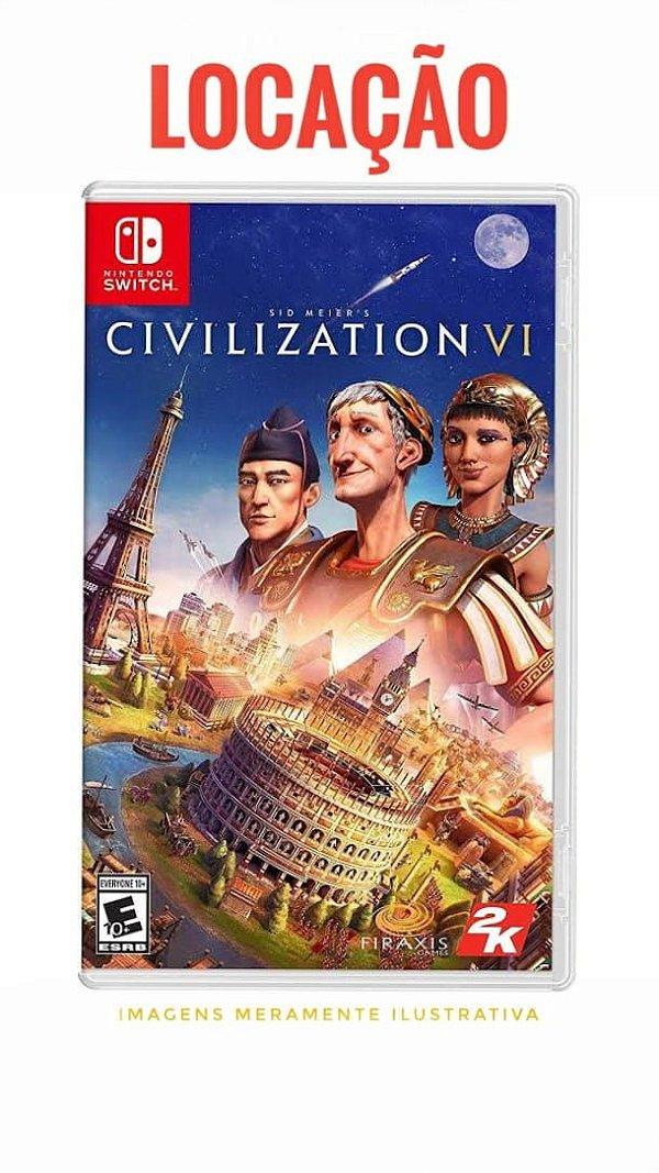 [DISPONÍVEL] Jogo Civilization VI Nintendo Switch