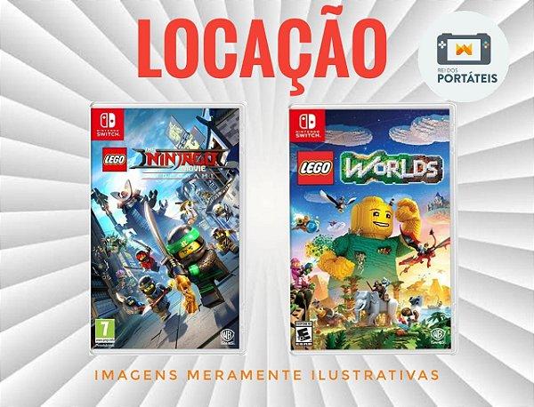 [DISPONÍVEL] Jogos Legos Nintendo Switch