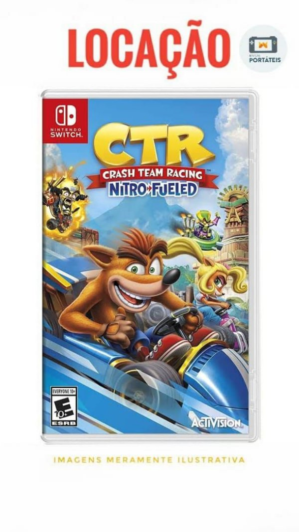 [ALUGADO] Crash Team Racing Nitro-Fueled Nintendo Switch