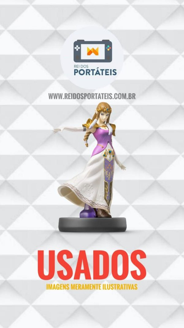 Amiibo Zelda - Super Smash Bros Nintendo
