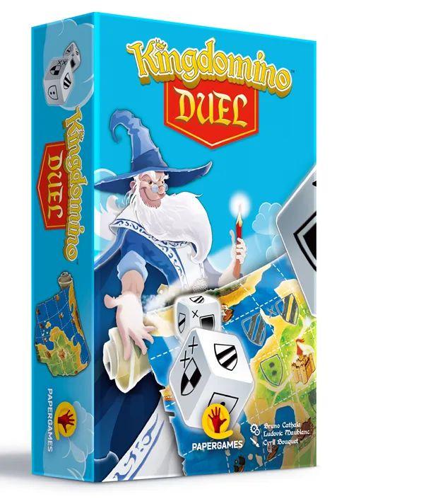 Jogo Kingdomino  Duel - Papergames