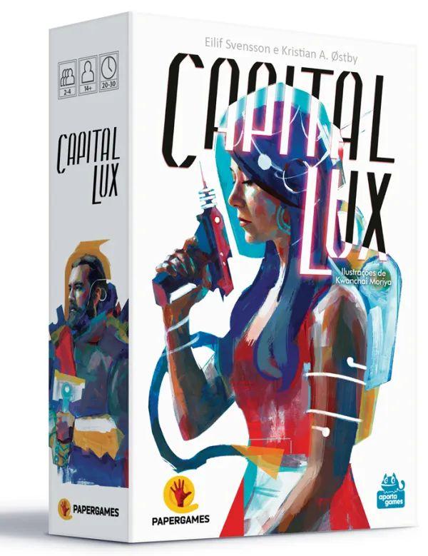 Jogo De Cartas Capital Lux