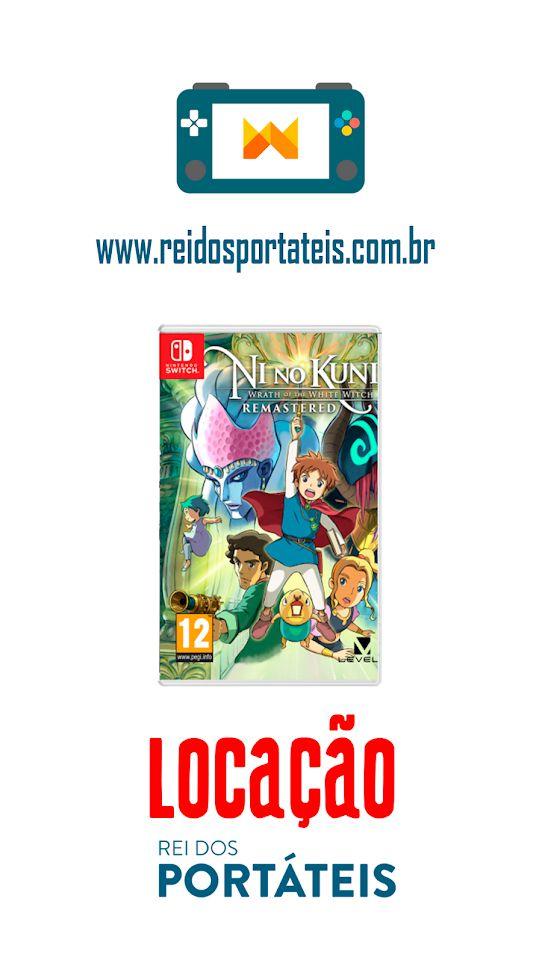 [DISPONÍVEL] Ni No Kuni Remastered Nintendo Switch