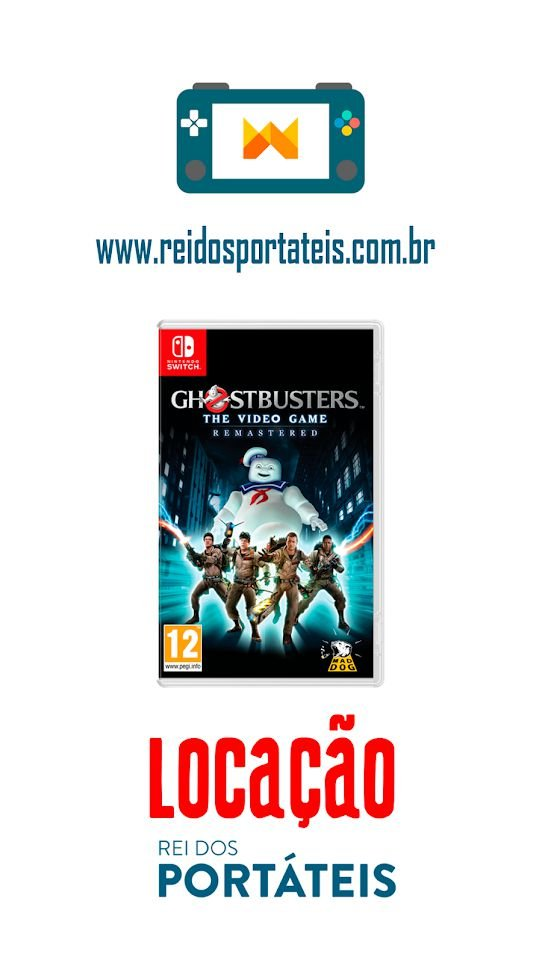 [DISPONÍVEL] GhostBusters The Video Game Remastered Nintendo Switch