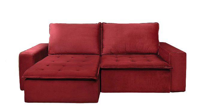 Sofá retrátil e reclinável Bergamo - Casa Bela Sofás de ...