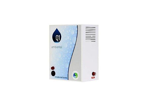 Gerador de Ozônio Para Piscina Q1 Ambiental - Home 35 (Sem Timer) - Para Piscinas de Até 35 Mil Litros