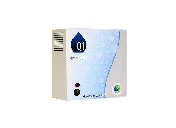 Gerador de Ozônio Para Piscina Q1 Ambiental - Home 50 (Sem Timer) - Para Piscinas de Até 50 Mil Litros