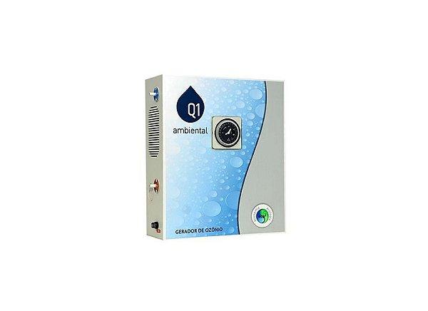 Gerador de Ozônio Para Piscina Q1 Ambiental - Home 150 (Com Timer) - Para Piscinas de Até 150 Mil Litros