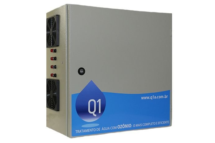 Sistema de Ozônio Q6-TC Para Piscinas Corporativas Q1 Ambiental - Para Piscinas de Até 550.000 Litros