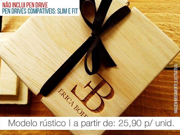 Caixa p/ Pen Drive - Modelo 2