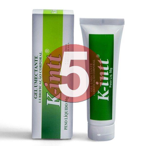KIT05 - K-INTT: Lubrificante a base d'água facilitador de penetração vaginal e anal