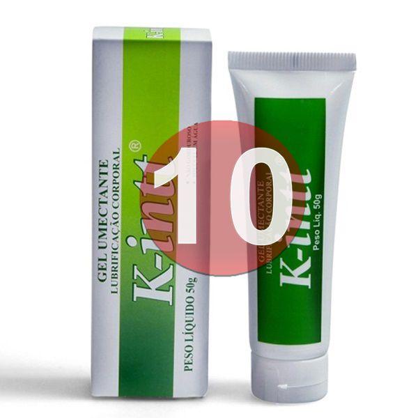KIT10 - K-INTT: Lubrificante a base d'água facilitador de penetração vaginal e anal