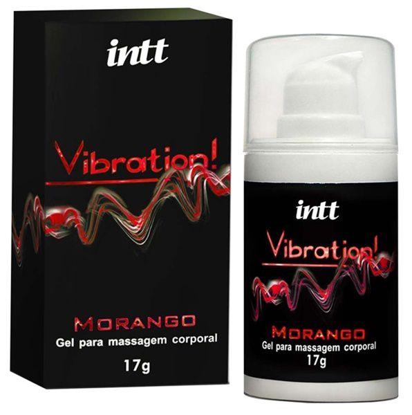 Vibration morango - vibrador líquido