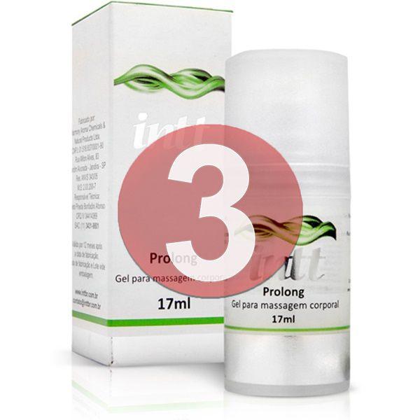 KIT03 - Prolong - retardante de ejaculação prolongador de ereção