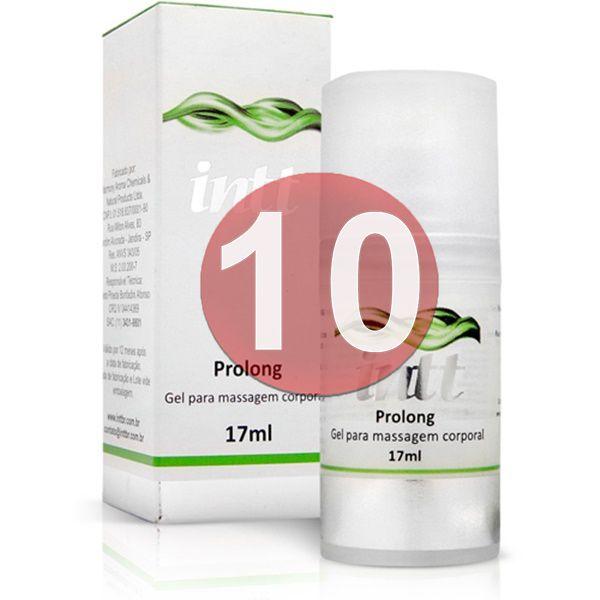 KIT10 - Prolong - retardante de ejaculação prolongador de ereção