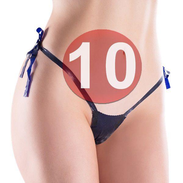 KIT10 - CALCINHA COMESTÍVEL UVA