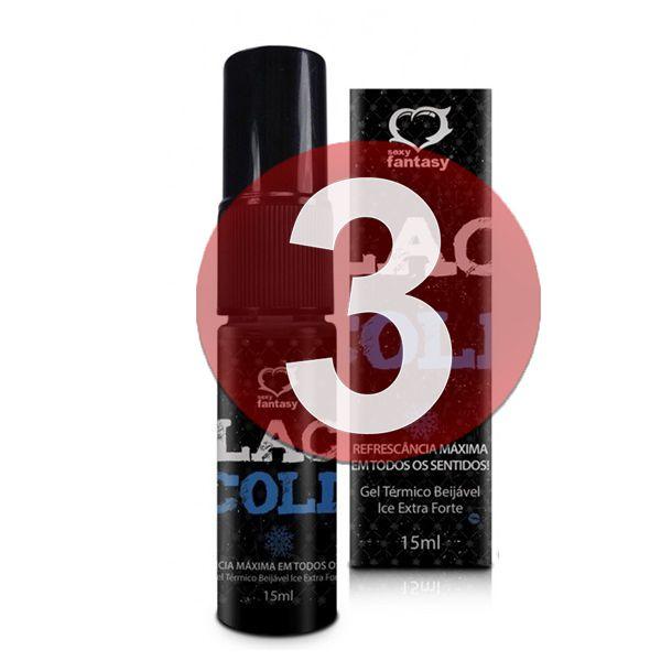 KIT03 - BLACK COLD SEXO ORAL REFRESCANTE 15ML