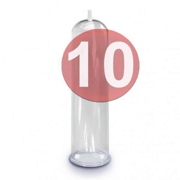 KIT10 - Bomba peniana  TUBO CILINDRO REPOSIÇÃO P/ BOMBA PENIANA