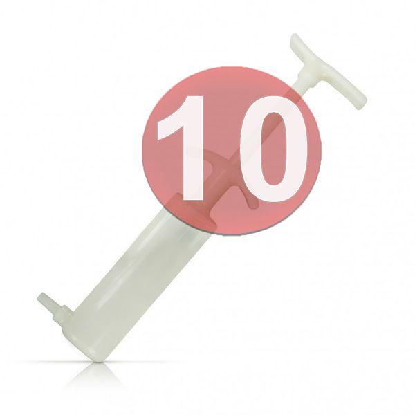 KIT10 - SERINGA REPOSIÇÃO P/ BOMBA PENIANA
