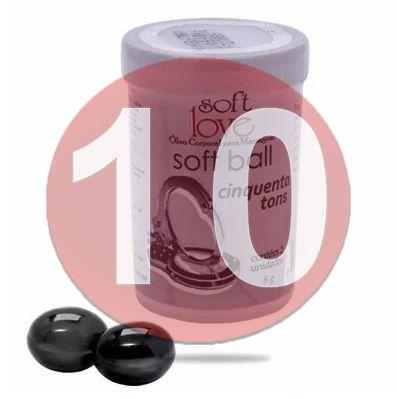 KIT10 - BOLINHA 50 TONS DE CINZA