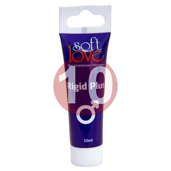 KIT10 - Rigid Plus gel 15 ml - excitante de ereção