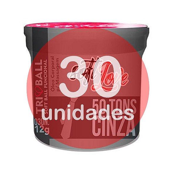 KIT30 - BOLINHA DO SEXO - FUNCIONAL 50 TONS DE CINZA