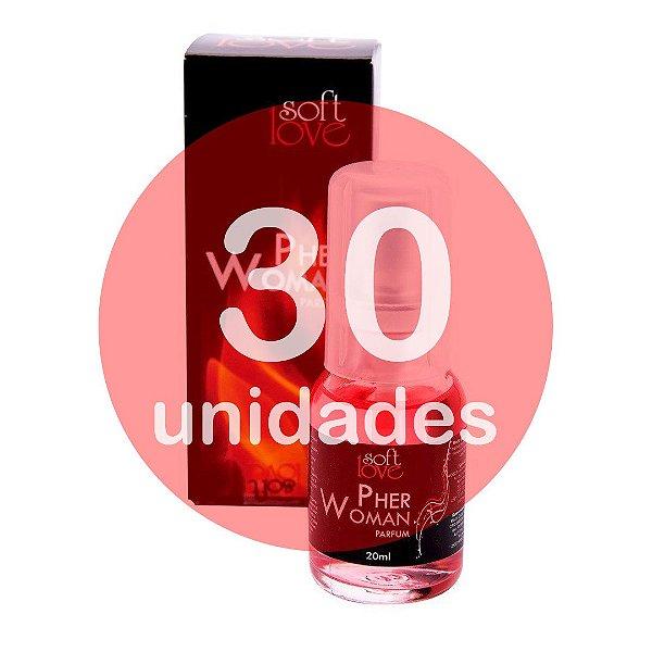 KIT30 - PERFUME - PHERWOMAN 20 ML