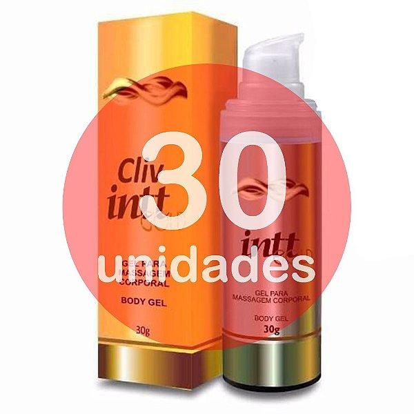 KIT30 - Cliv gold intt 30gr - gel para sexo anal sem dor - anestésico extra forte