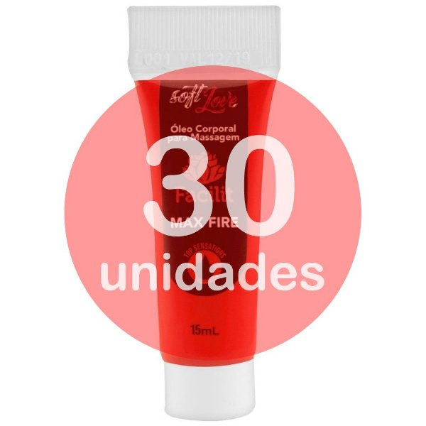 KIT30 - FACILIT MAX FIRE BISNAGA ANESTÉSICO ANAL 15ML