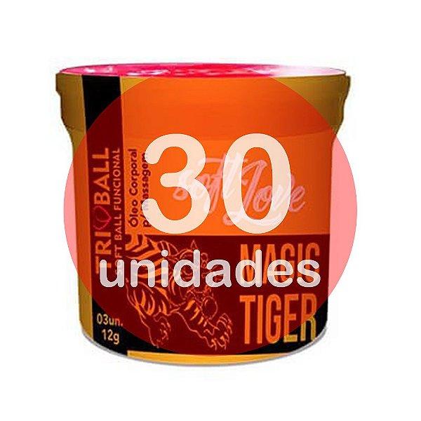 KIT30 - BOLINHA DO SEXO - FUNCIONAL MAGIC TIGER