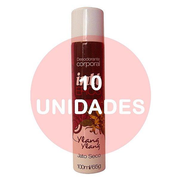 KIT10 - DESODORANTE ÍNTIMO FEMININO | AROMA: YLANG YLANG - EROS