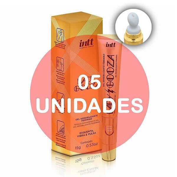 KIT05 - LADY GOOZA GEL SENSIBILIZANTE ATIVADOR DE ORGASMO - 15G