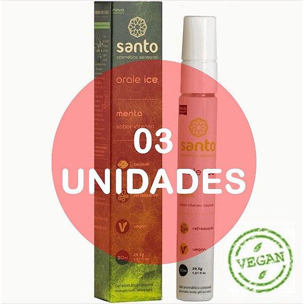 KIT03 - Orale ice - 30ml menta vegano -