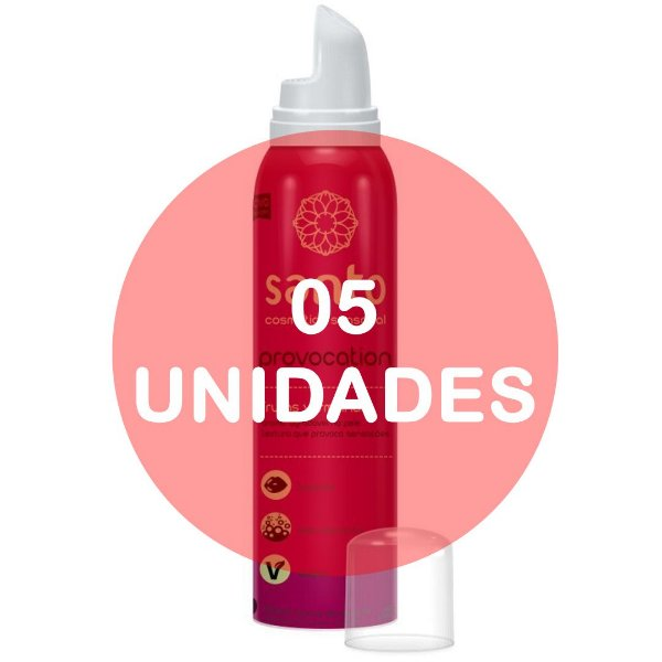 KIT05 - PROVOCATION MOUSSE EFERVESCENTE FRUTAS VERMELHAS - 166 ml