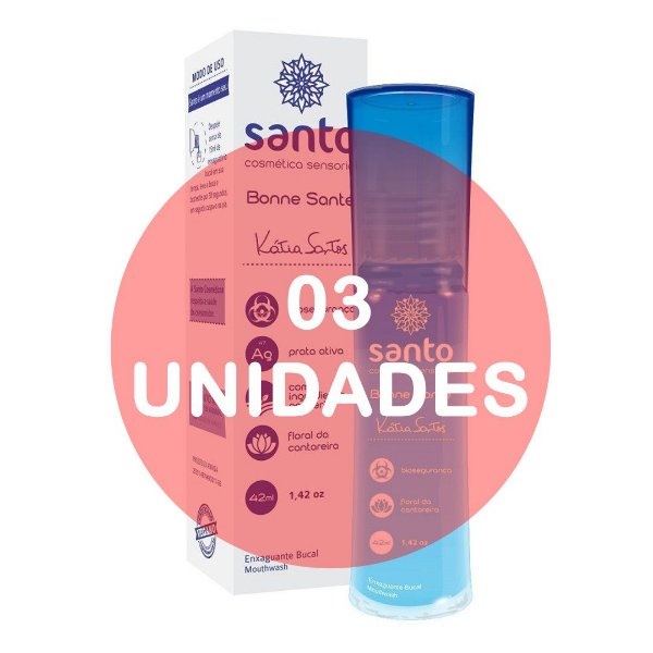 KIT03 - BONNE SANTÉ - ENXAGUATÓRIO BUCAL PROTETOR ANTES DO SEXO ORAL