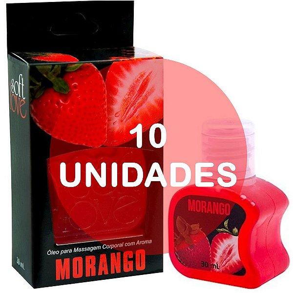 KIT10 - Gel comestível Hot 30ml - Morango
