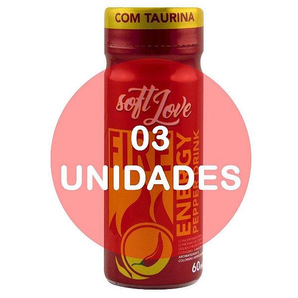 KIT03 - Energético Fire Pepper Drink 60ml