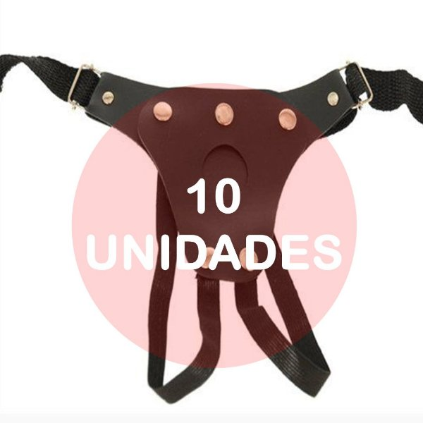KIT10 - Cinta para prótese com vibrador