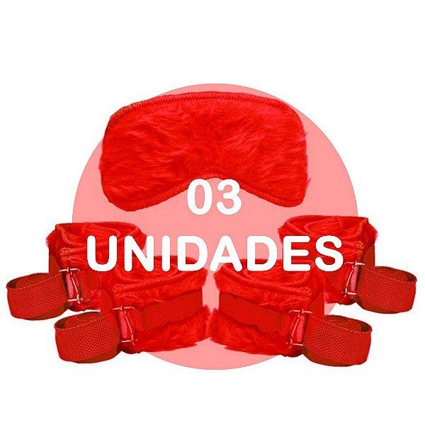 KIT03 - Kit bondage - cor vermelha