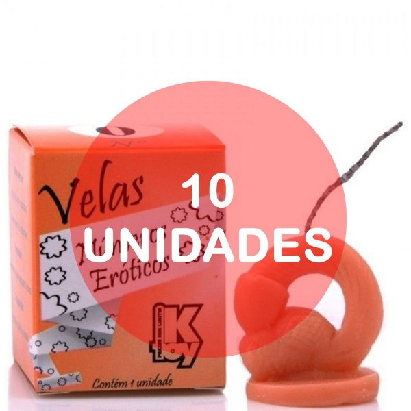 KIT10 - VELA ERÓTICA N° 0